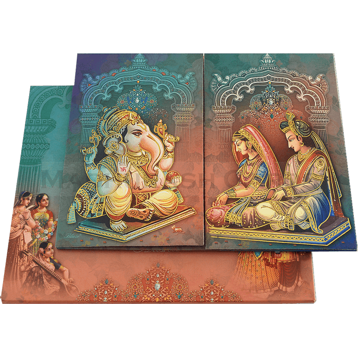 Hindu Wedding Cards - HWC-18084 - 2