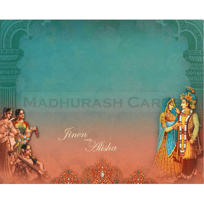 Hindu Wedding Cards - HWC-18084 - 3
