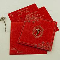 Hindu Wedding Cards - HWC-18094