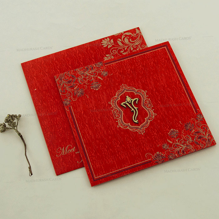 Hindu Wedding Cards - HWC-18094