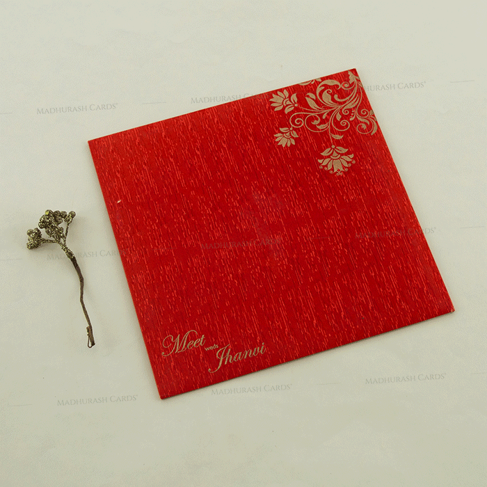 Hindu Wedding Cards - HWC-18094 - 3