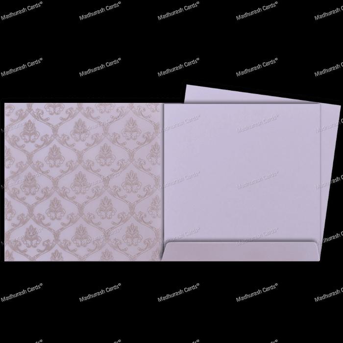 Muslim Wedding Cards - MWC-18123 - 4