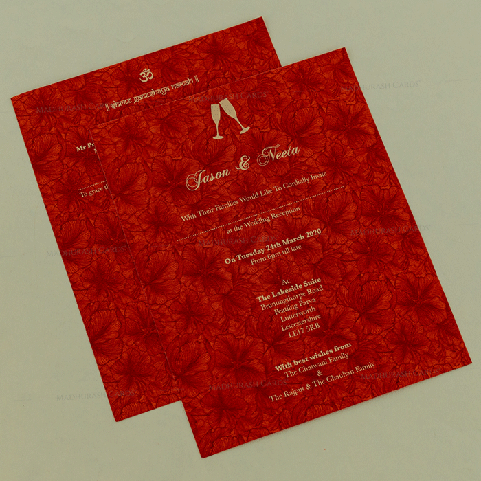 Muslim Wedding Cards - MWC-18136 - 4