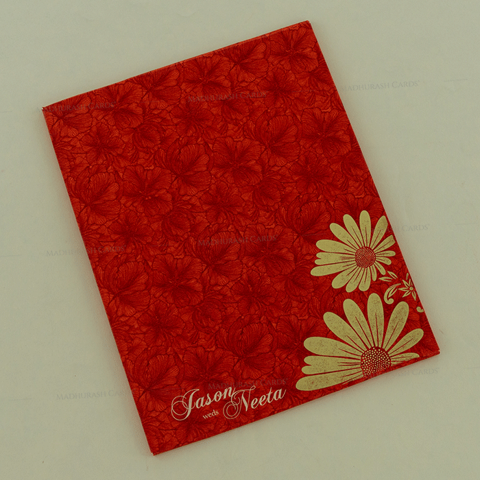 Hindu Wedding Cards - HWC-18136 - 3