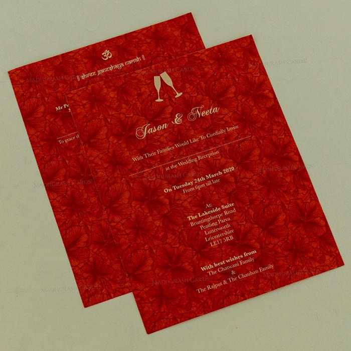 Sikh Wedding Cards - SWC-18136 - 4