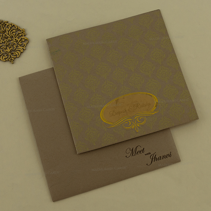 Muslim Wedding Cards - MWC-18137