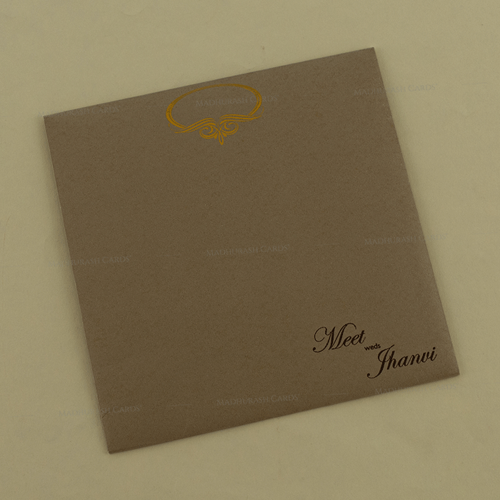 Hindu Wedding Cards - HWC-18137 - 3