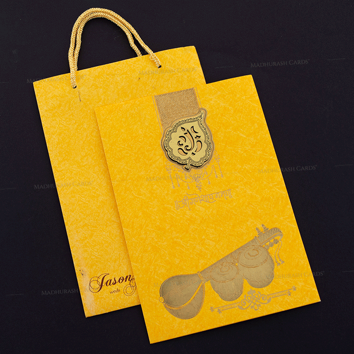 Hindu Wedding Cards - HWC-18144