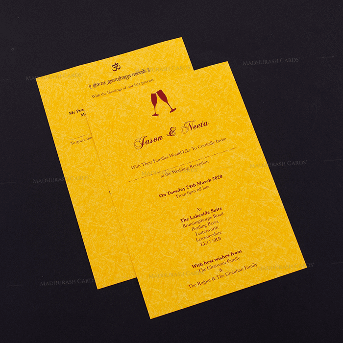 Hindu Wedding Cards - HWC-18144 - 4