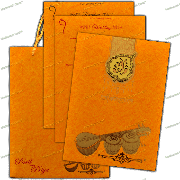 Hindu Wedding Cards - HWC-18144 - 5