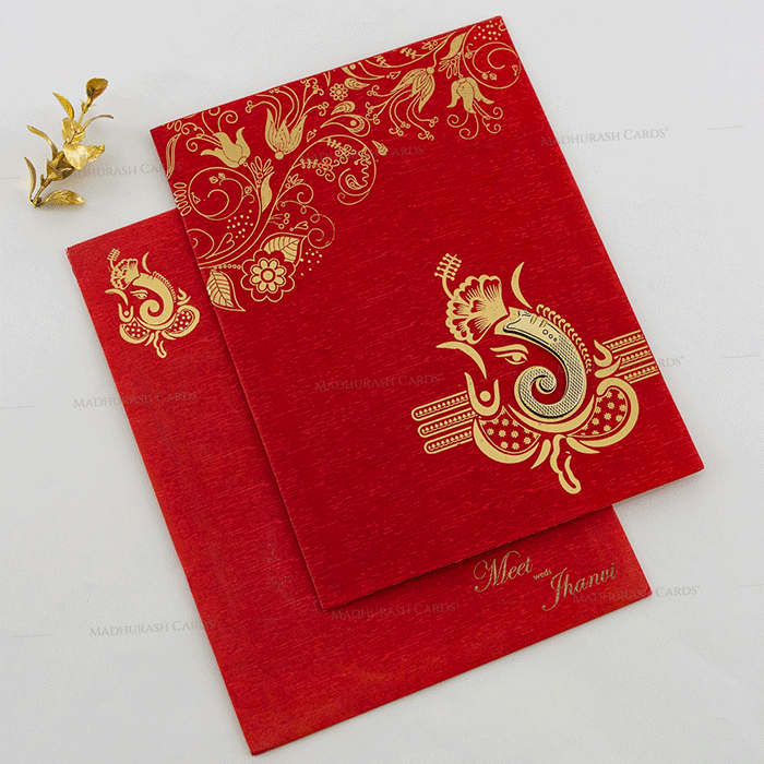 Hindu Wedding Cards - HWC-18146