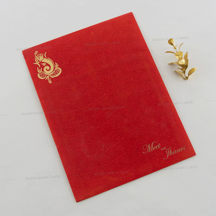 Hindu Wedding Cards - HWC-18146 - 3
