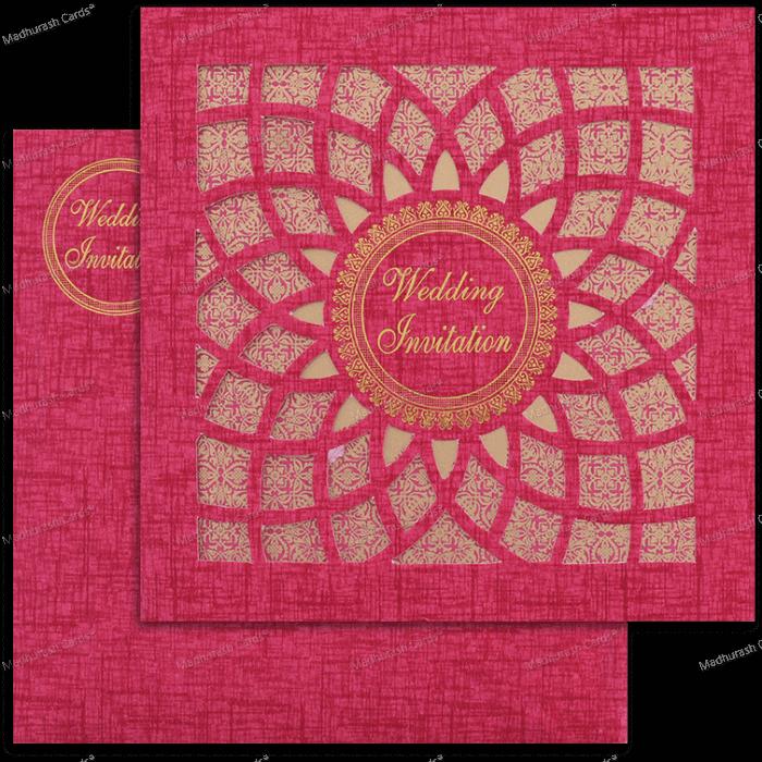 Muslim Wedding Cards - MWC-18198