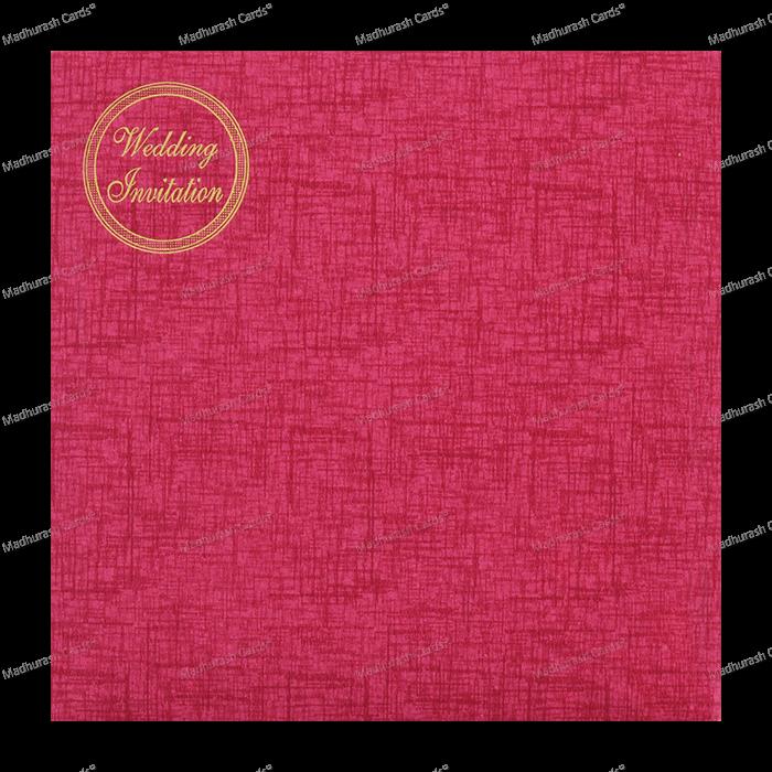 Muslim Wedding Cards - MWC-18198 - 3