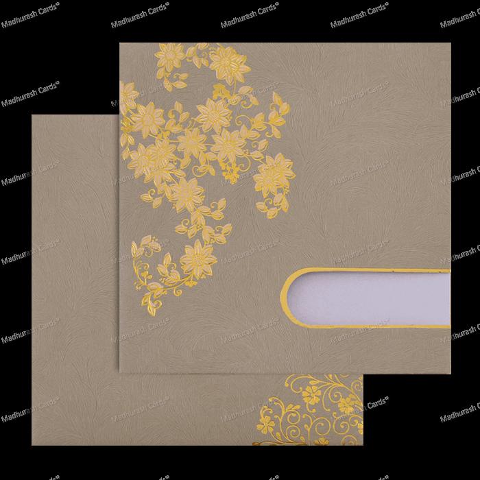 Muslim Wedding Cards - MWC-18207