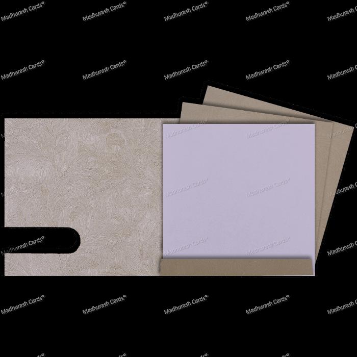 Muslim Wedding Cards - MWC-18207 - 4