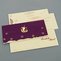 Hindu Wedding Cards - HWC-4063