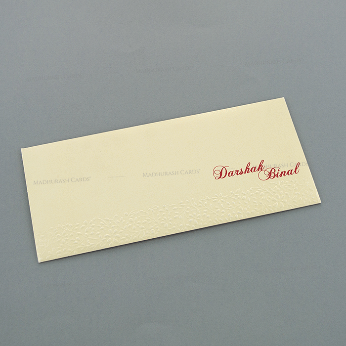 Hindu Wedding Cards - HWC-4063 - 3