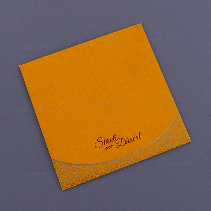 Hindu Wedding Cards - HWC-18211 - 3