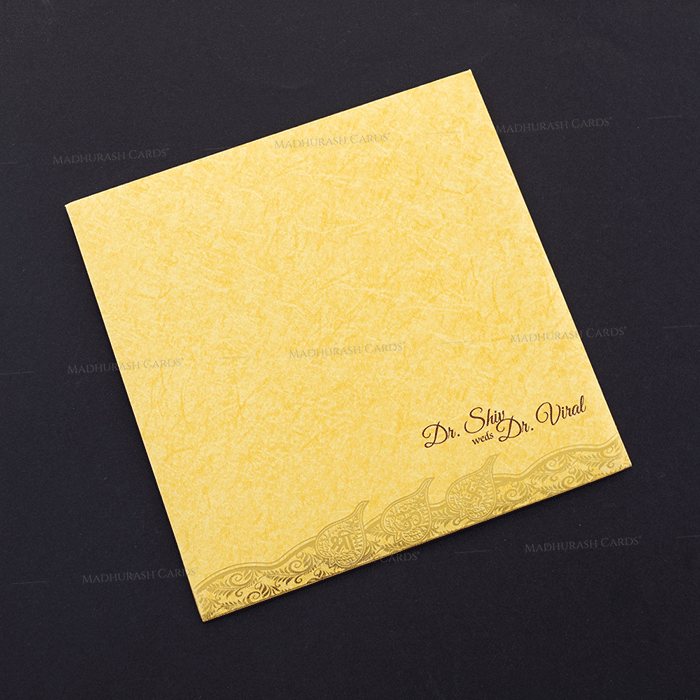 Hindu Wedding Cards - HWC-18212 - 3