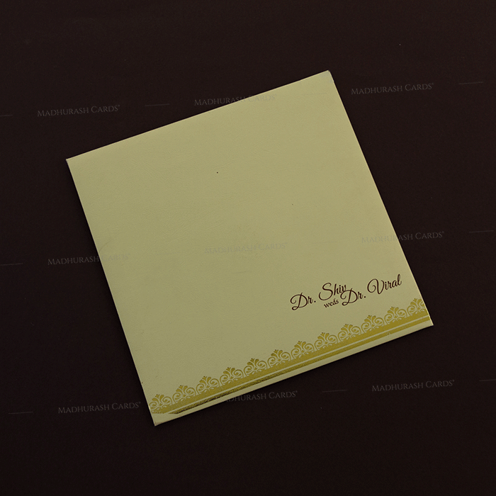 Hindu Wedding Cards - HWC-18235 - 3
