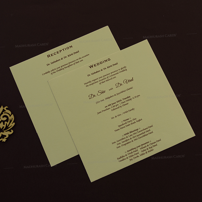 Hindu Wedding Cards - HWC-18235 - 4