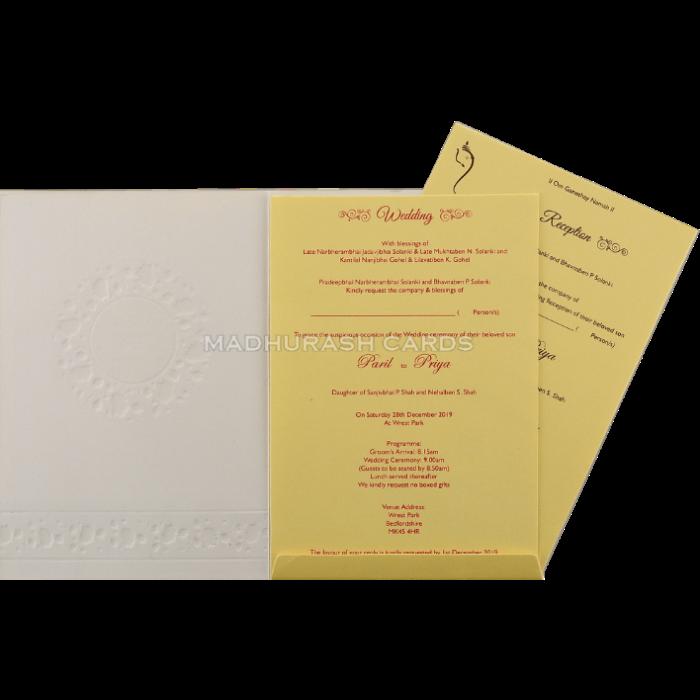Hindu Wedding Cards - HWC-18219 - 4