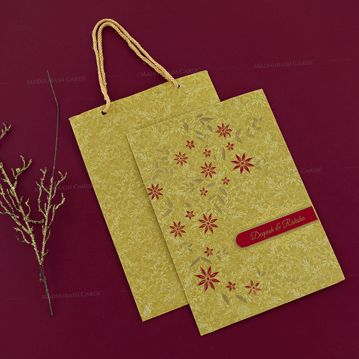 Hindu Wedding Cards - HWC-18255