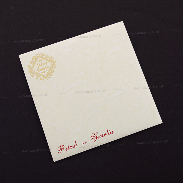 Hindu Wedding Cards - HWC-18270 - 3