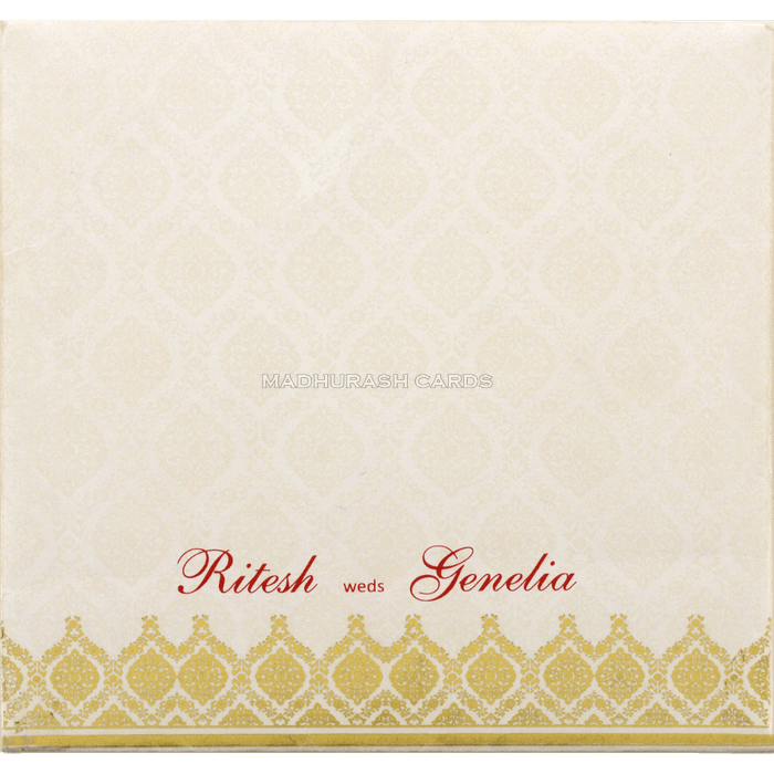Muslim Wedding Cards - MWC-18276 - 3