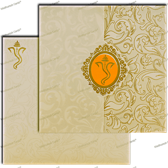 Hindu Wedding Cards - HWC-18292