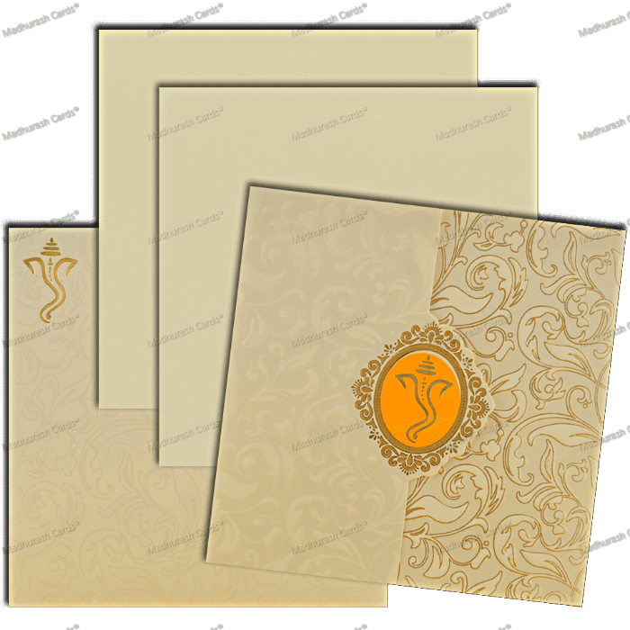 Hindu Wedding Cards - HWC-18292 - 4