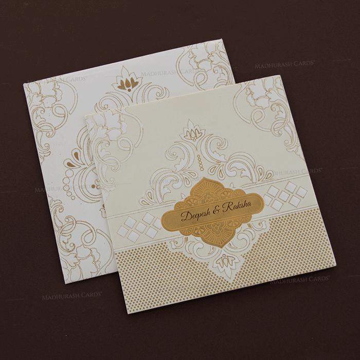 Muslim Wedding Cards - MWC-18294