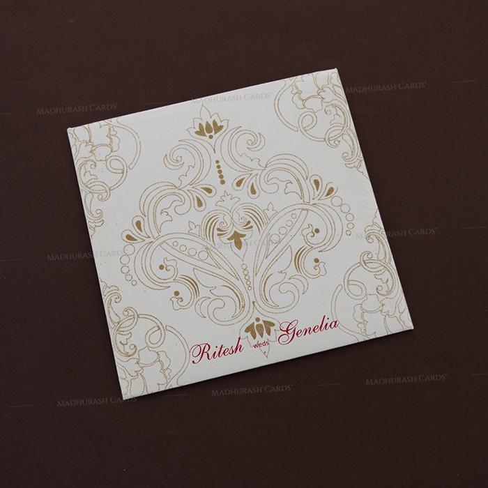 Muslim Wedding Cards - MWC-18294 - 3