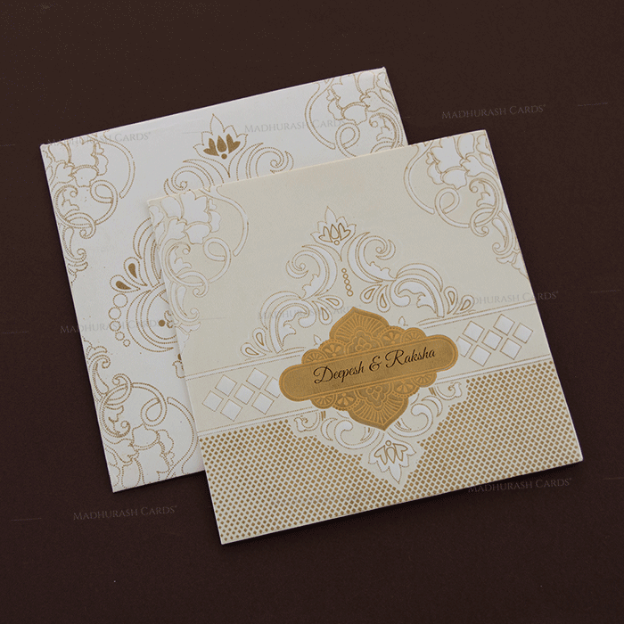 Hindu Wedding Cards - HWC-18294