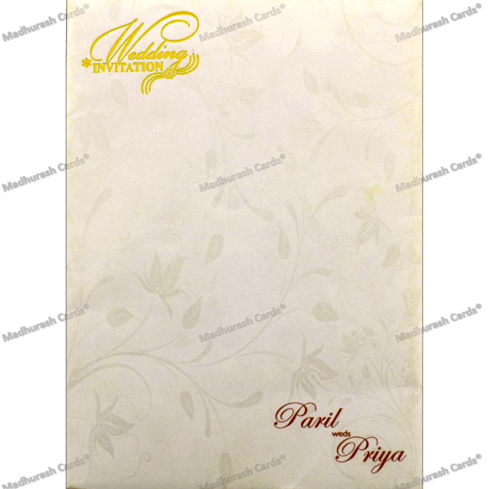 Hindu Wedding Cards - HWC-18303 - 3