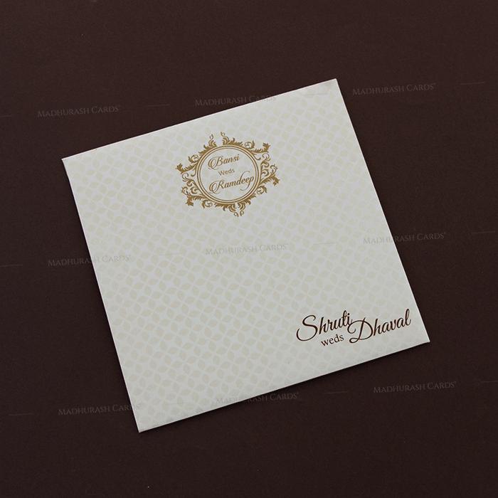 Muslim Wedding Cards - MWC-18291 - 3