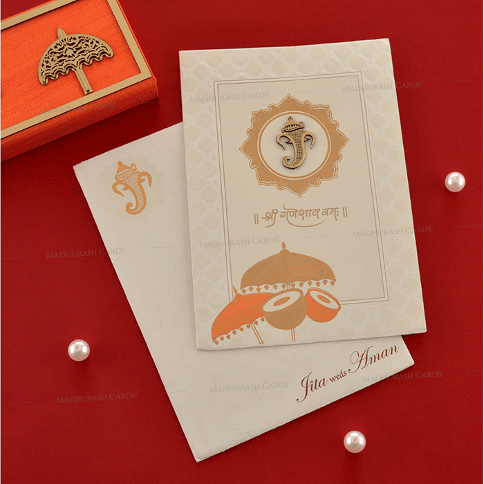 Hindu Wedding Cards - HWC-18238