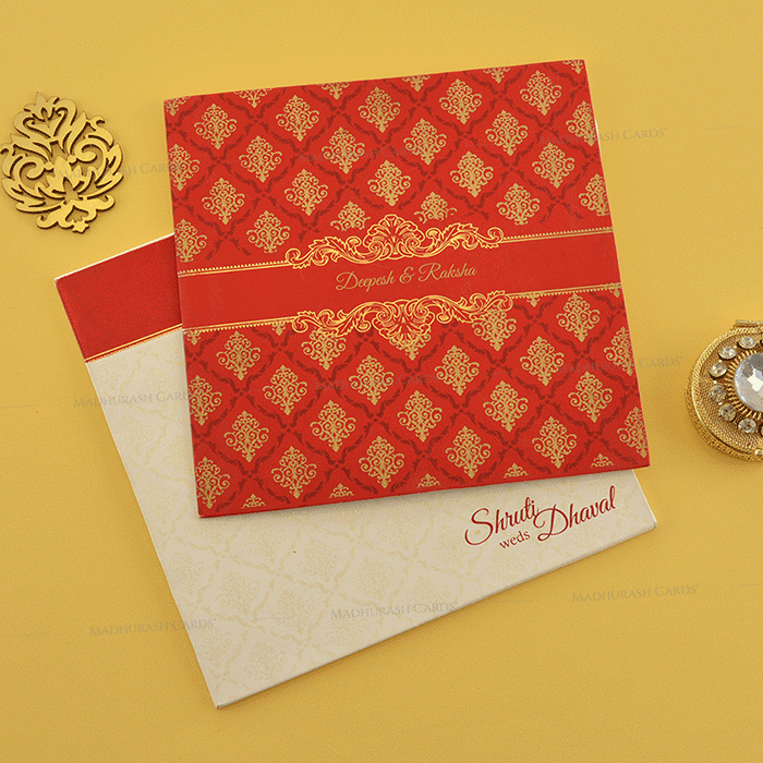 Hindu Wedding Cards - HWC-18111