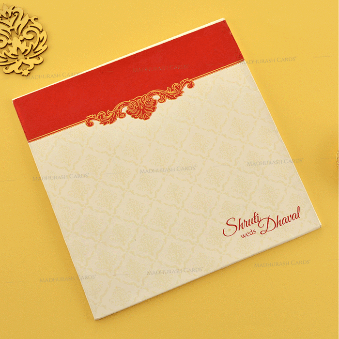 Hindu Wedding Cards - HWC-18111 - 3