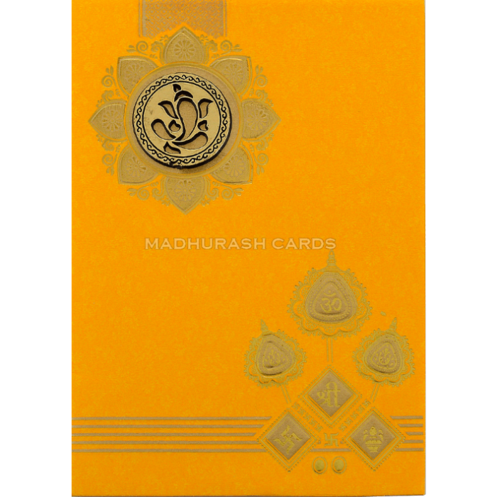 Hindu Wedding Cards - HWC-18213 - 2
