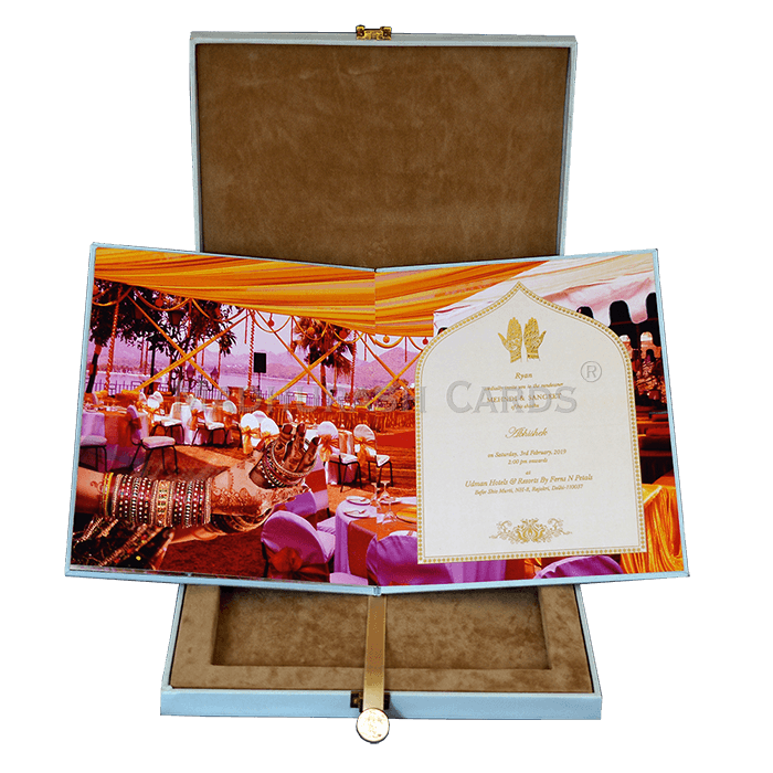 Luxury Wedding Cards - LWC-01 - 4