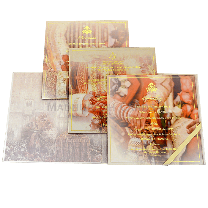 Luxury Wedding Cards - LWC-15 - 5
