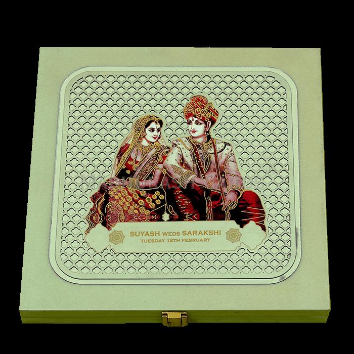 test Luxury Wedding Cards - LWC-02