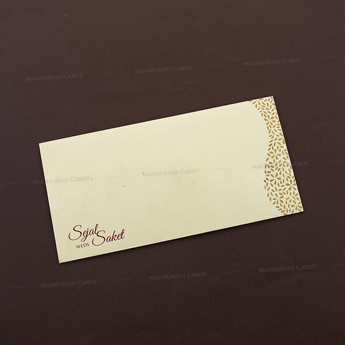 Hindu Wedding Cards - HWC-4091 - 3