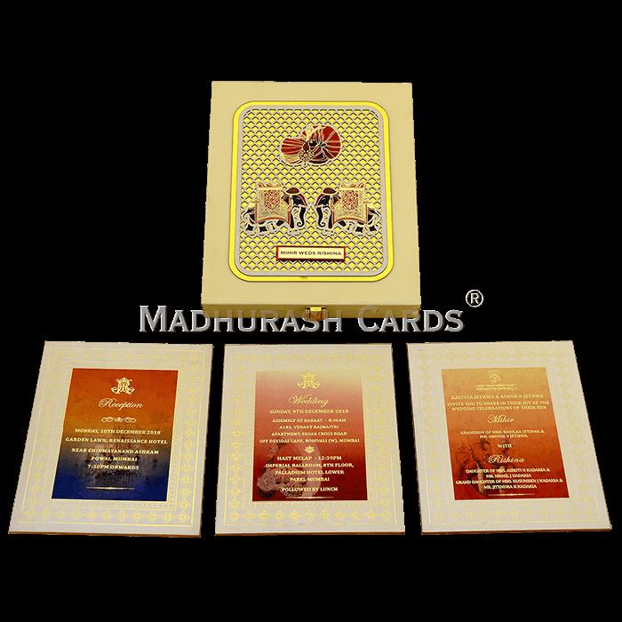 Luxury Wedding Cards - LWC-03 - 4
