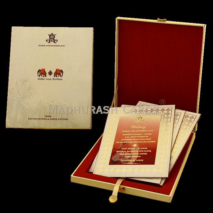 Luxury Wedding Cards - LWC-03 - 5
