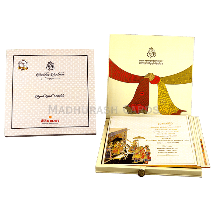 Luxury Wedding Cards - LWC-05 - 4