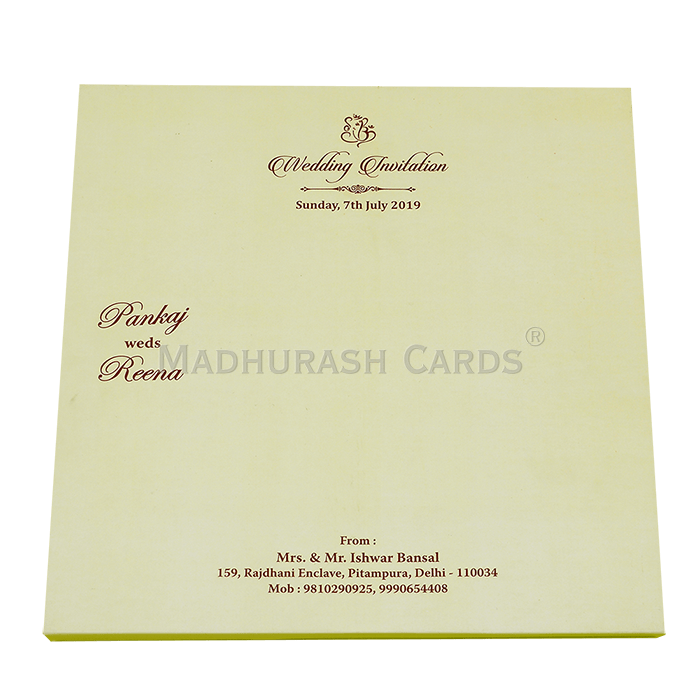 Luxury Wedding Cards - LWC-11 - 3