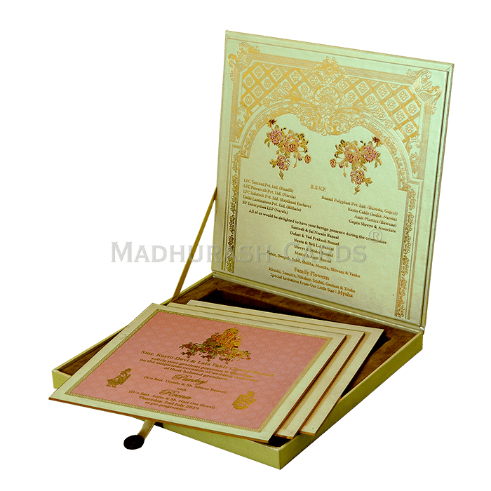 Luxury Wedding Cards - LWC-11 - 4